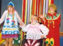 Царівна - Наталія Шульженко, Цар - Михайло Стрельченко, Цариця - Вікторія Воробйова
